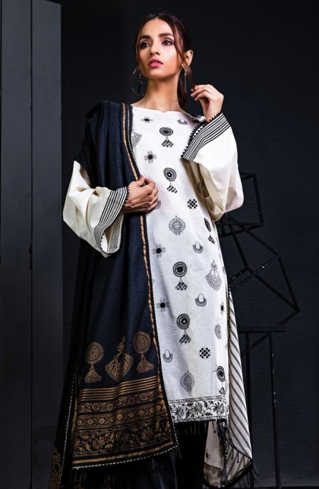 Orient Textiles Winter 19 Unstitched Collection OTL-19-180 B