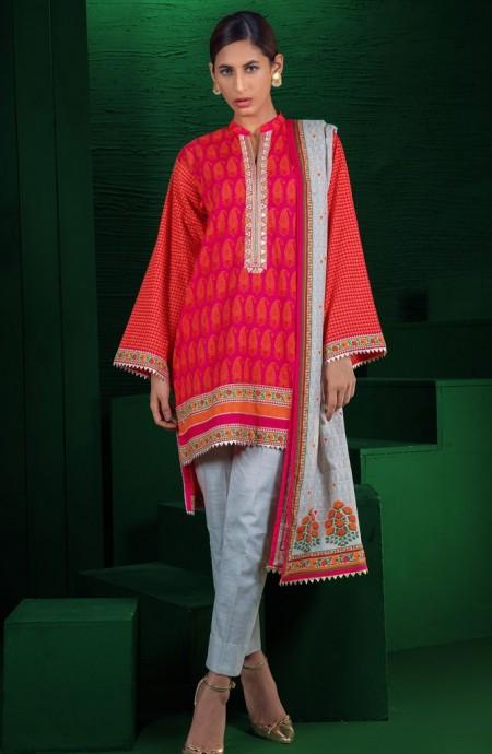 Orient Textiles Winter 19 Unstitched Collection OTL-19-192 A