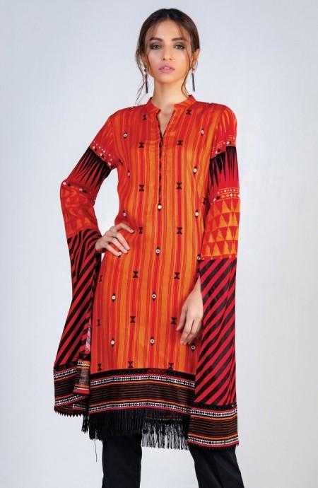 Orient Textiles Winter 19 Unstitched Collection OTL-19-204 A