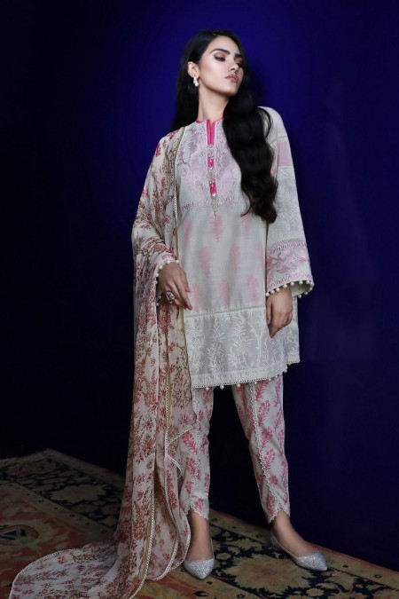 Sana Safinaz Pre-Fall collection C191-0014B-CI - Unstitched Fabric