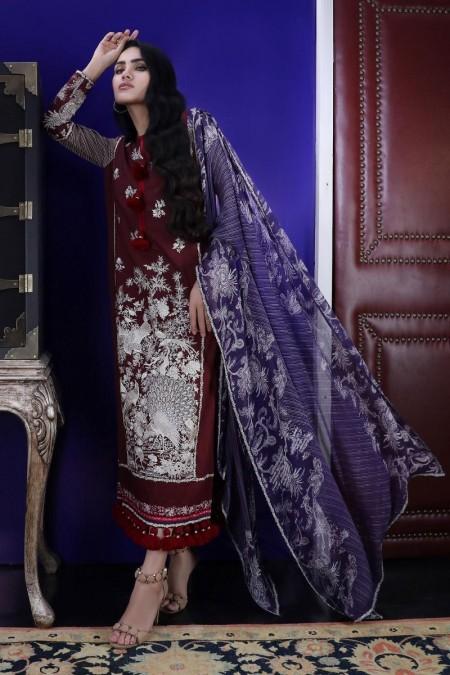 Sana Safinaz Pre-Fall collection C191-009A-CI - Unstitched Fabric