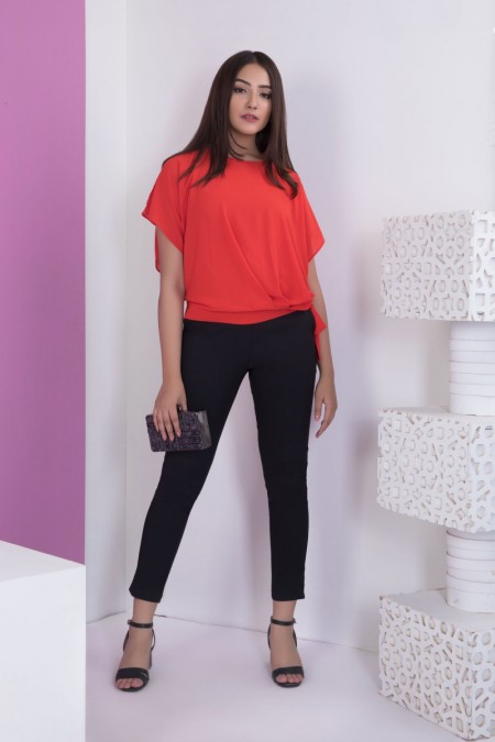 Sapphire Drop topWESTTOP00074-SML-RED