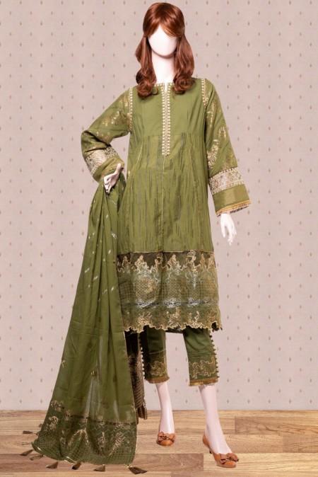 Saya Mahrosh Embroiderd Jacquard CollectionMERAAS UN-1922-09B