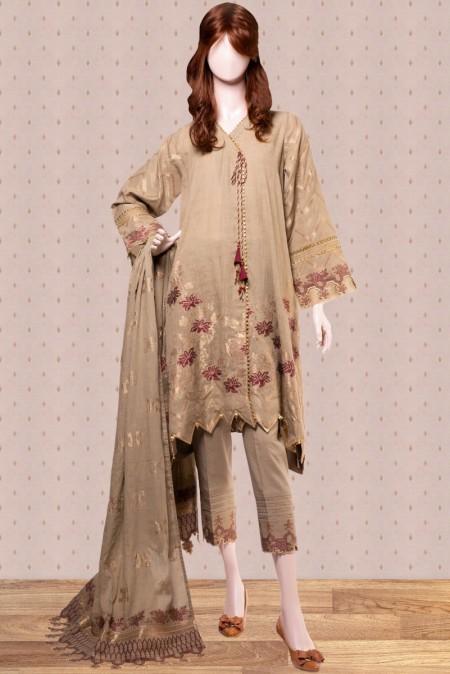 Saya Mahrosh Embroiderd Jacquard CollectionNOORBANO UM-1922-10B