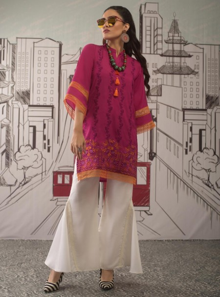 Zainab Chottani Blazing berry 100051