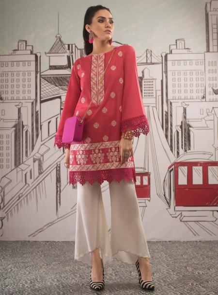 Zainab Chottani Melon pink frizz 100053
