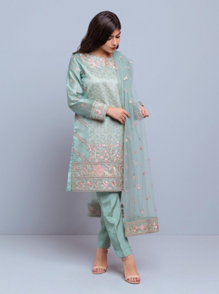 BeechTree Embroidered Shirt + DupattaBTW19-F-736S