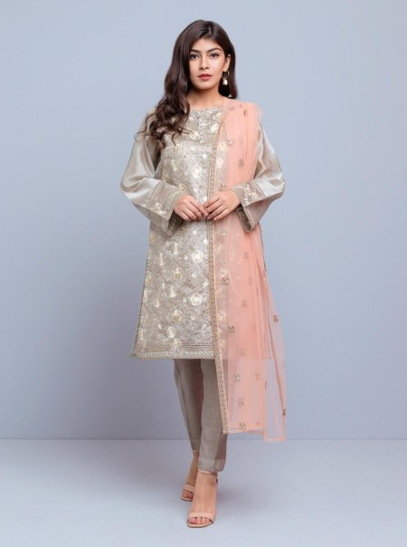 BeechTree Embroidered Shirt + DupattaBTW19-F-739S