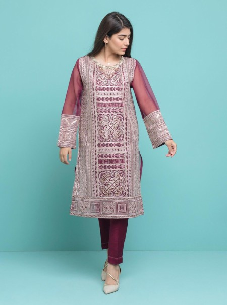 BeechTree Embroidered ShirtBTW19-F-711S