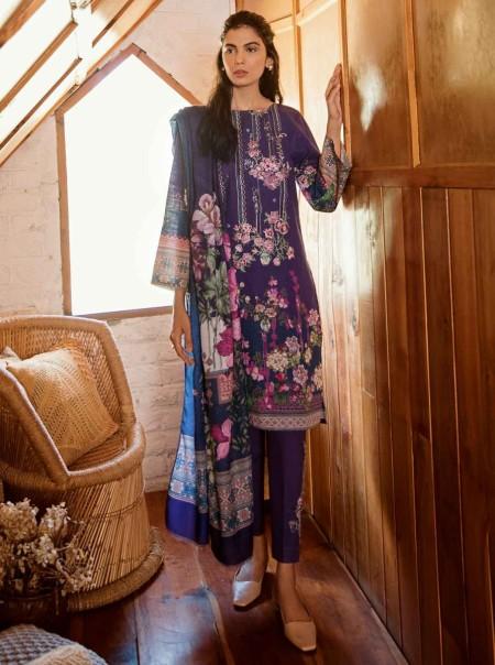 BeechTree Winter19 Violet Petal-3 Pc