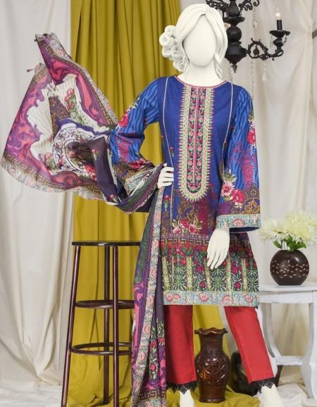 Junaid Jamshed Winter19 Unstitched Collection JJLS-S-JW2-19-7018 FBBoulevard 19-524