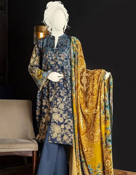 Junaid Jamshed Winter19 Unstitched Collection JJLS-W-JW-19-1082 FBFloral Chintz