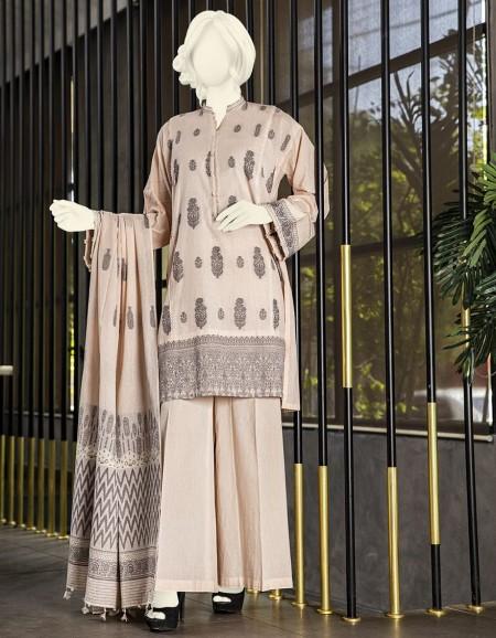 Junaid Jamshed Winter19 Unstitched Collection JJLS-W-TP-030 FBTP-030