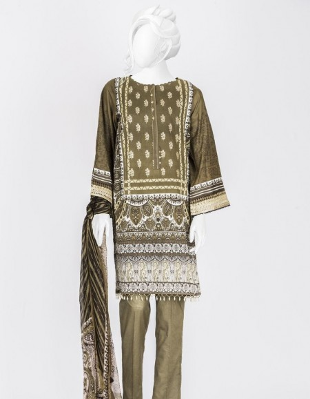 Junaid Jamshed Winter19 Unstitched Collection JLAWN-S-19-0199 Larkpur