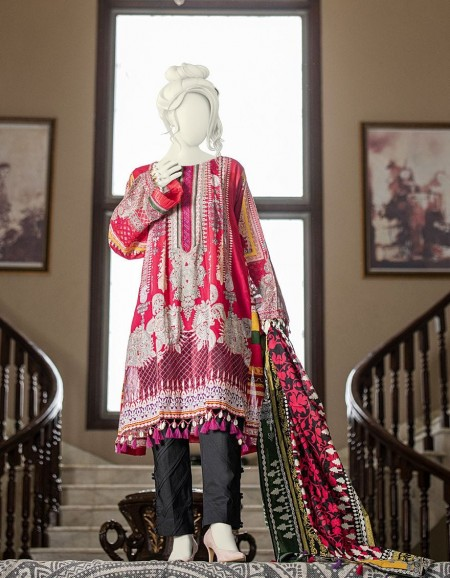 Junaid Jamshed Winter19 Unstitched Collection JLAWN-S-19-240B Mooro