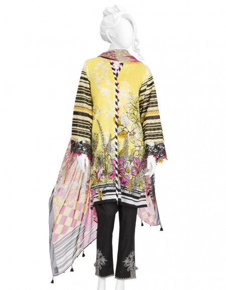 Junaid Jamshed Winter19 Unstitched Collection JLAWN-S-JDS-19-1075 The Sketch
