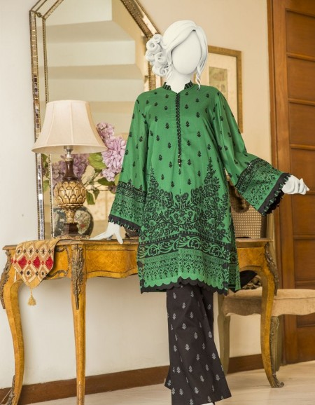 Junaid Jamshed Winter19 Unstitched Collection JLAWN-S-JST-19-1634A Lotus
