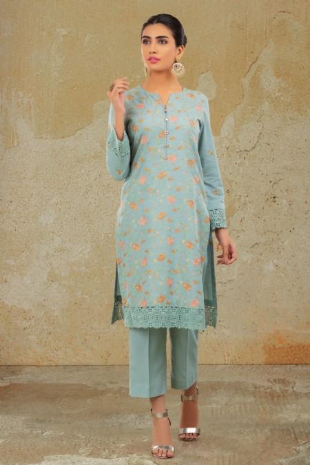 Kayseria Dyed & Embr Shirt KPN-272