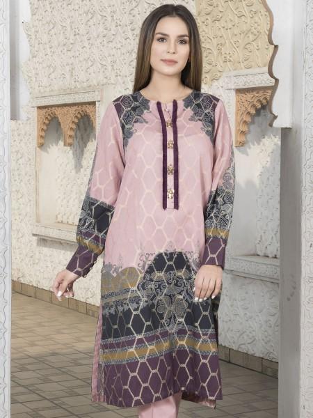 LimeLight Winter19 Unstitched Jacquard Shirt U0961-SSH-PPK