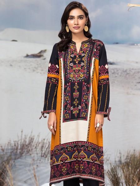 LimeLight Winter19 Unstitched Slub Khaddar Shirt U0916-SSH-OCH