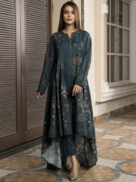 LimeLight Winter19 Unstitched Slub Khaddar Shirt U0918-SSH-PBU