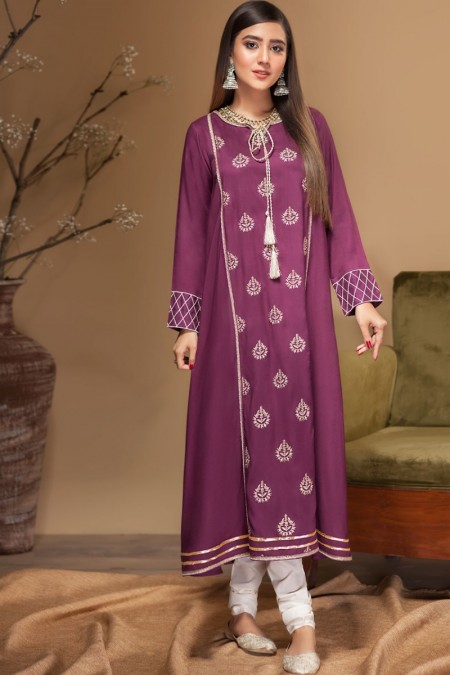 Origins CAMELLIA Embroidered Frock19W20s