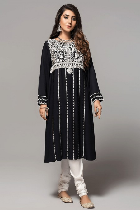 Origins NIRVANA BLACK Embroidered Frock19W39s