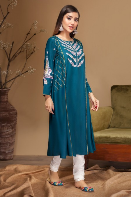 Origins SNOW DROP Embroidered Frock19W33s