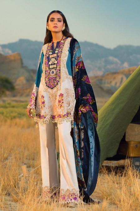 Sana Safinaz Winter Shawls S191-002A-CP