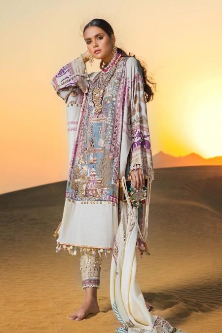 Sana Safinaz Winter Shawls S191-010A-CP