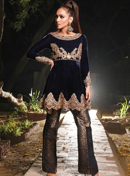 Zainab Chottani Blue Goldstone