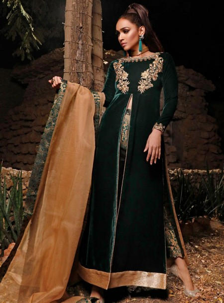 Zainab Chottani Dark Moss Topaz