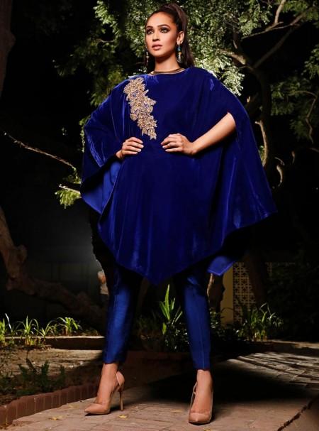 Zainab Chottani Ultramarine Bleu