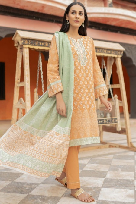 Zeen Woman Merak Winter Unstitched3 Piece Embroidered Cambric 632607