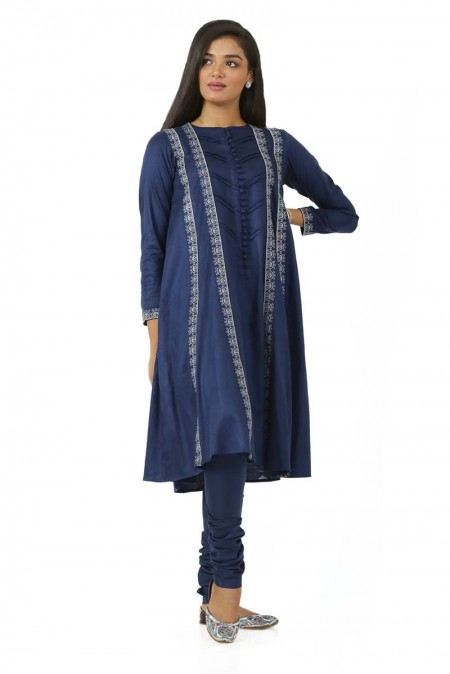 Ego Winter19 Essentials Evenflow 2 Piece Kurta and Pants EGN-132