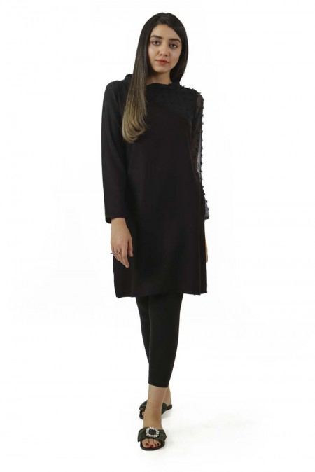 Ego Winter19 Essentials Off Shoulder Straight Kurta EGN-133
