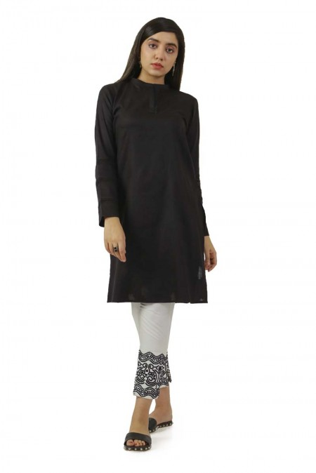 Ego Winter19 Essentials Sensation Black Kurta EGN-129
