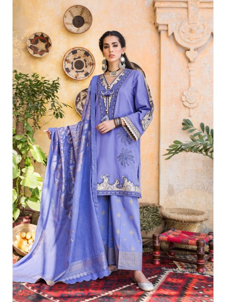 Ethnic by Outfitters Winter Unstitched Collection ABRESHAM WUC491387-10229690-WS-069