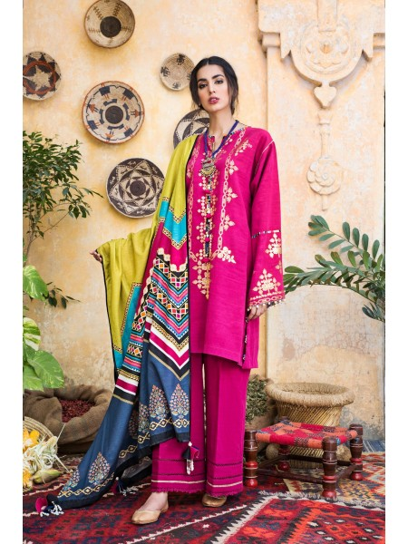 Ethnic by Outfitters Winter Unstitched Collection DIVINE WUC491357-10228664-WS-041