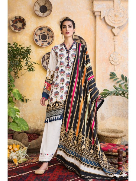 Ethnic by Outfitters Winter Unstitched Collection PAISLEY GARDEN WUC491358-10230437-WS-042
