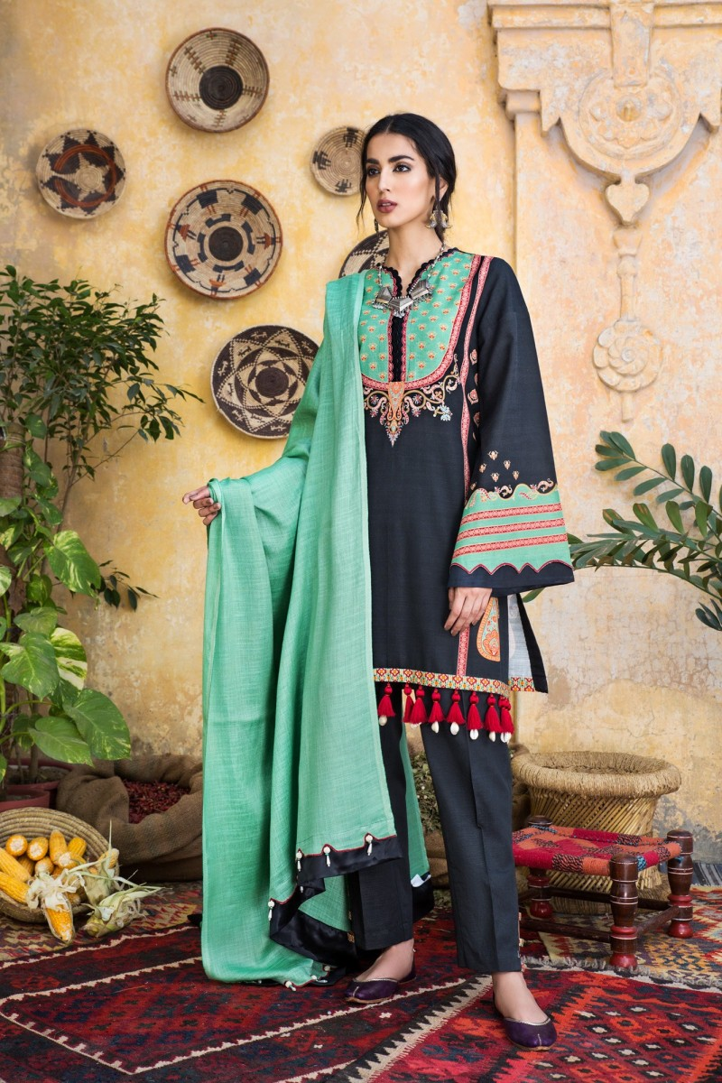 Ethnic by Outfitters Winter Unstitched Collection PLATINUM WUC491359-10228665-WS-044