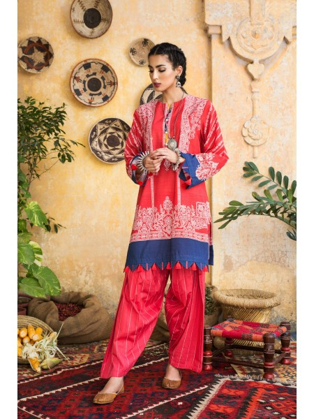 Ethnic by Outfitters Winter Unstitched Collection ROSE LEAF WUC491375-10230450-WS-059