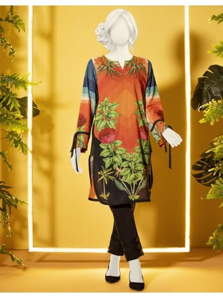 Junaid Jamshed Kurti Collection JJLK-S-JWS-19-3084 FB-Modern Forest
