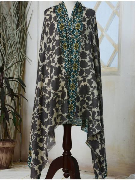 KHAS STORES Shawl Collection SHAWL IHC-R-01-16