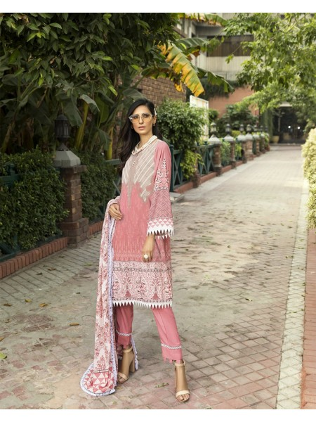 KHAS STORES Winter19 FLOWY PEACH KLE-15014