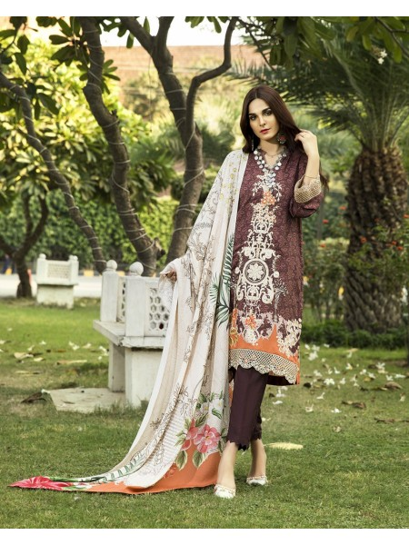 KHAS STORES Winter19 ORANGE ORIENTALIST KLE-15016