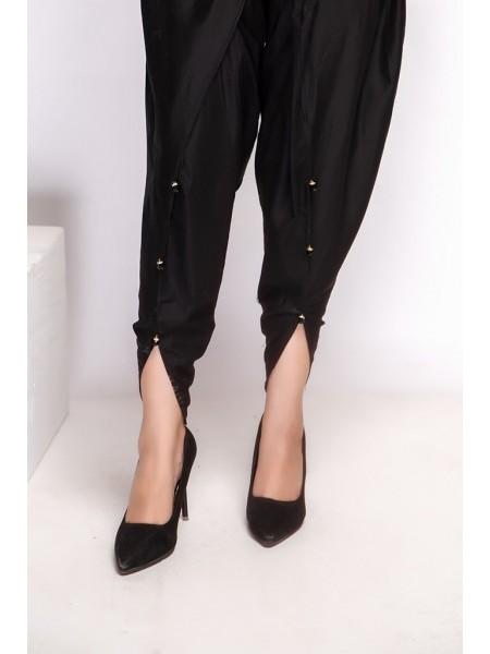 Mannat Clothing Tulip Shalwar Black MC-061