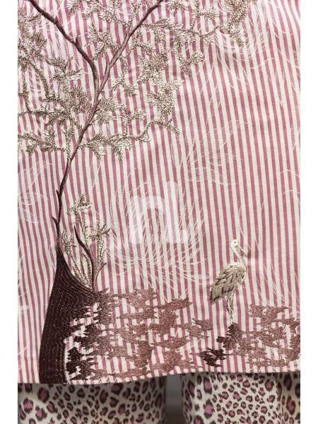 Nishat Linen Winter19 Unstitched 41901169-Karandi Maroon Printed Embroidered 2PC