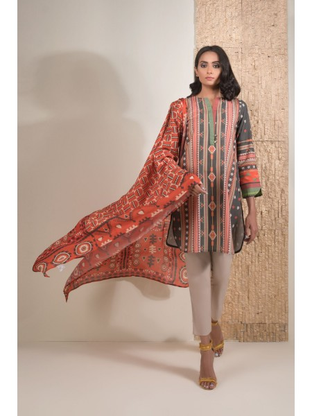 SAPPHIRE Ready to Wear Geometrical way Dupatta 00D2PDAY2202