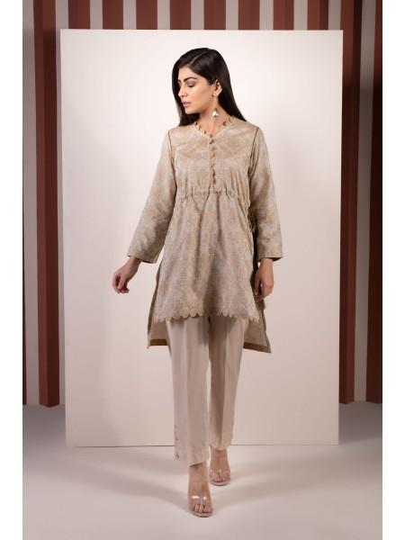 SAPPHIRE Ready to Wear Grey Mystery Solid Jacquard Shirt SSBPYD184113-XXS-BGE